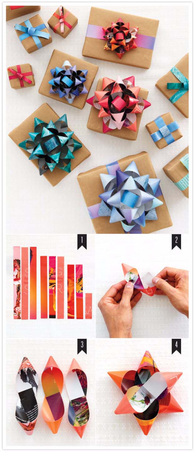 how to wrap a present in a creative way