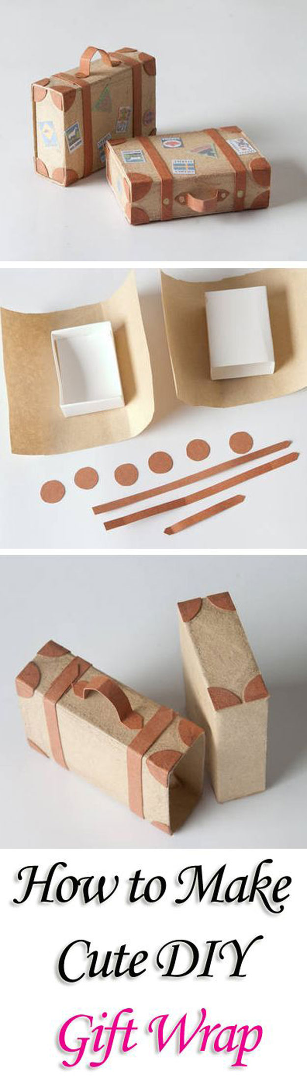 present wrapping ideas step by step
