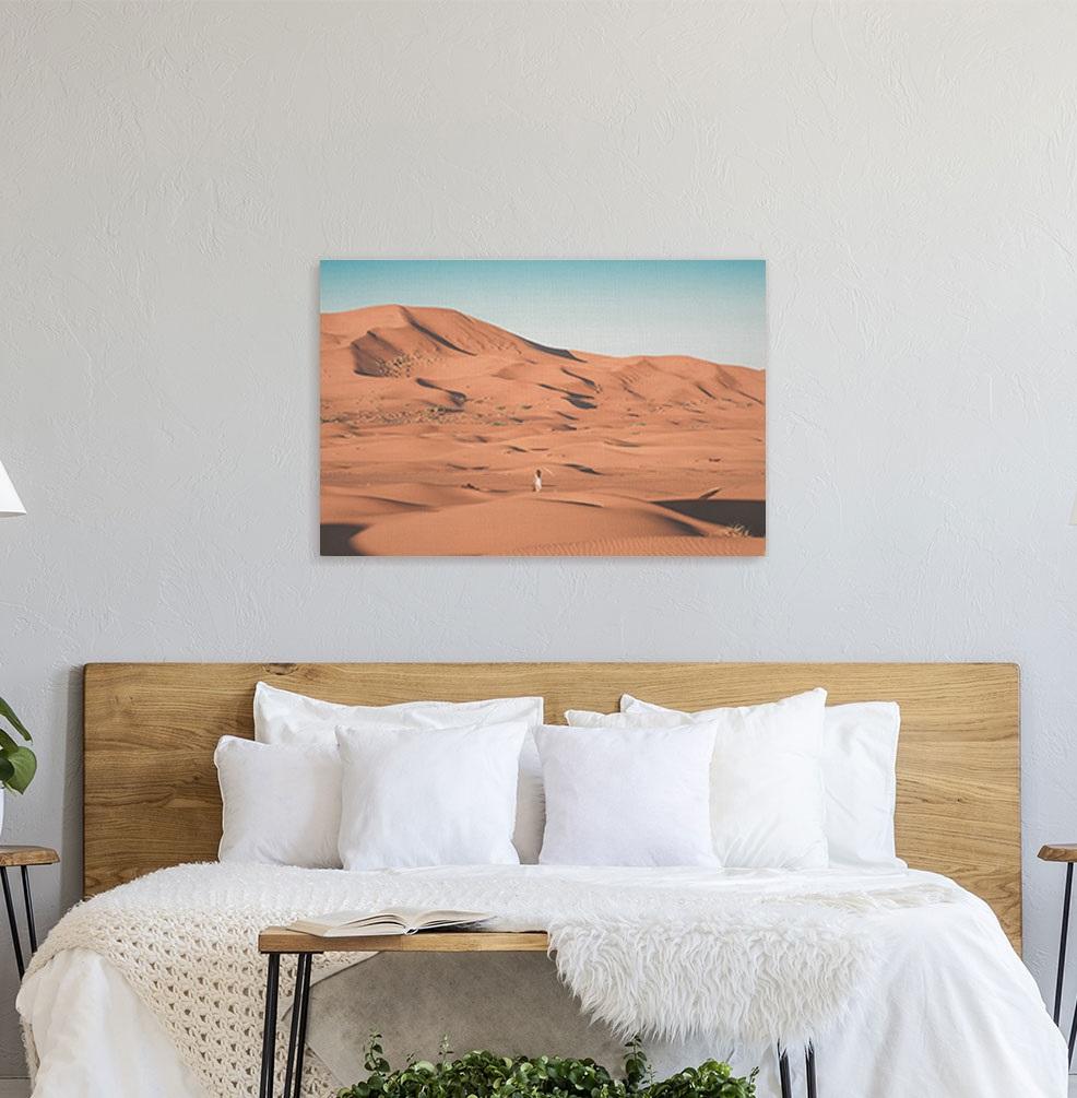 canvas print bedroom