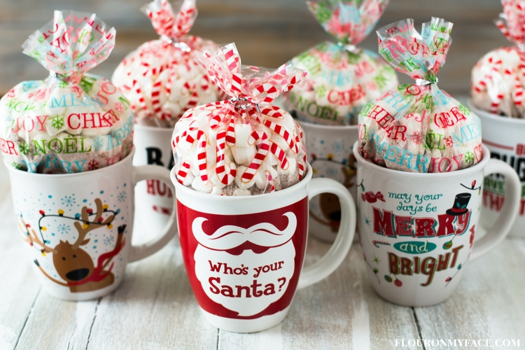 interesting DIY Christmas mugs