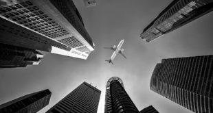 Airline, Architecture, Buildings, City, Flight, Jet