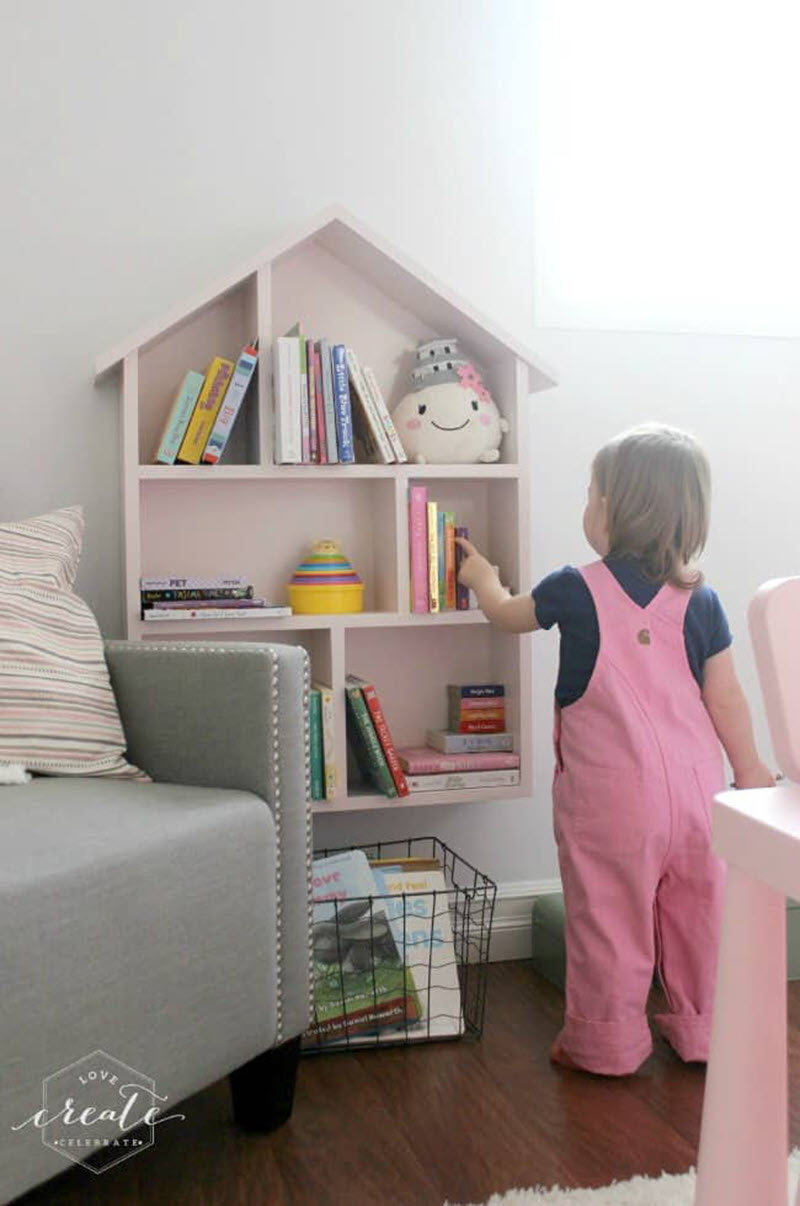 kids room shelves