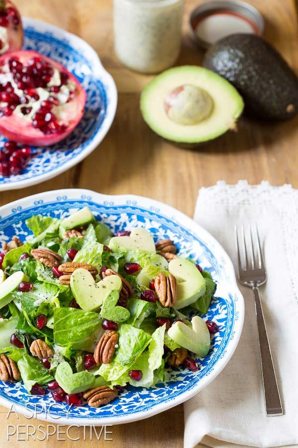 Valentine's Day salad recipe