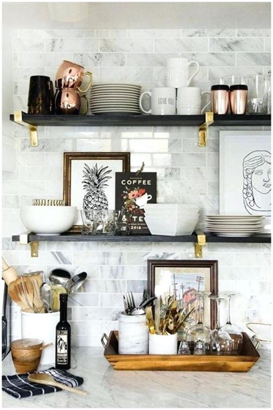 décoration de plateau de cuisine
