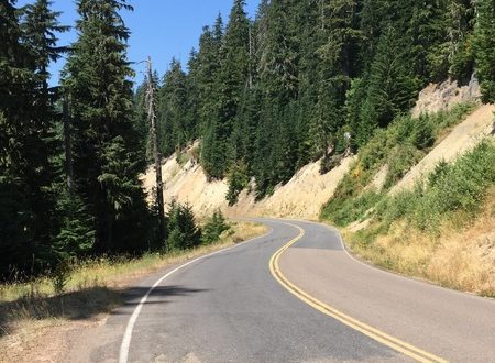 Driving on Mountain Highways