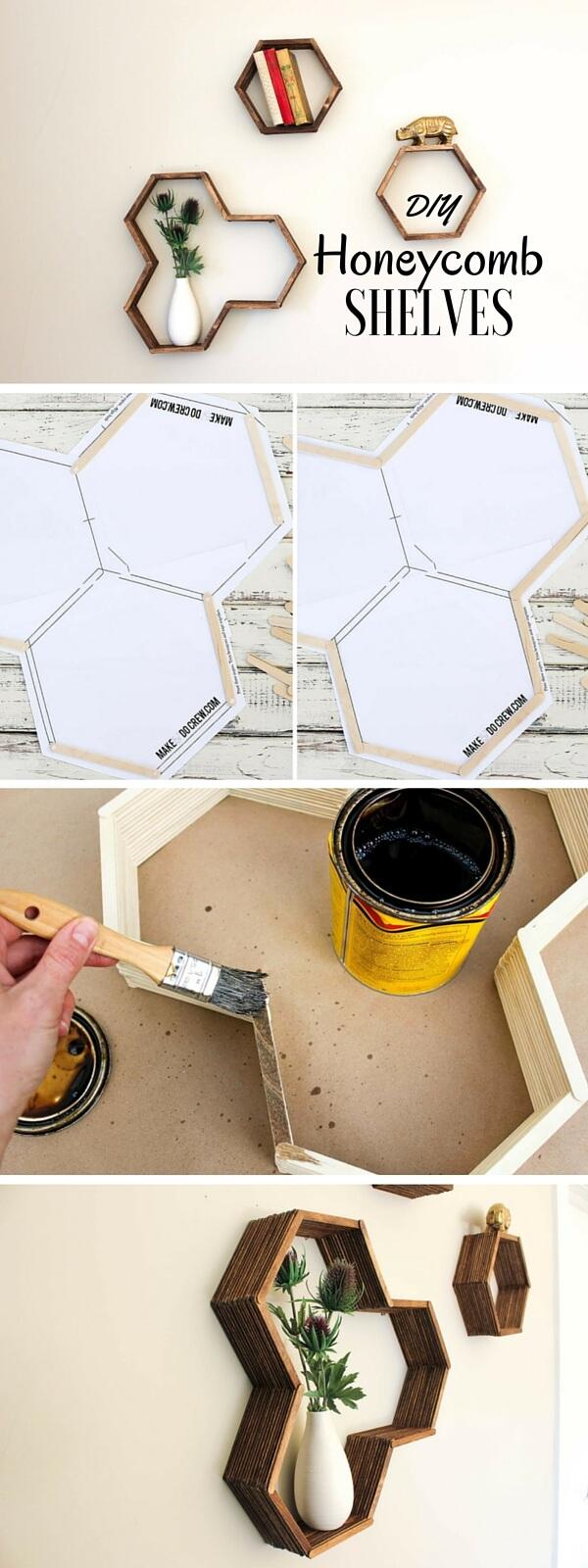 step by steps shelves