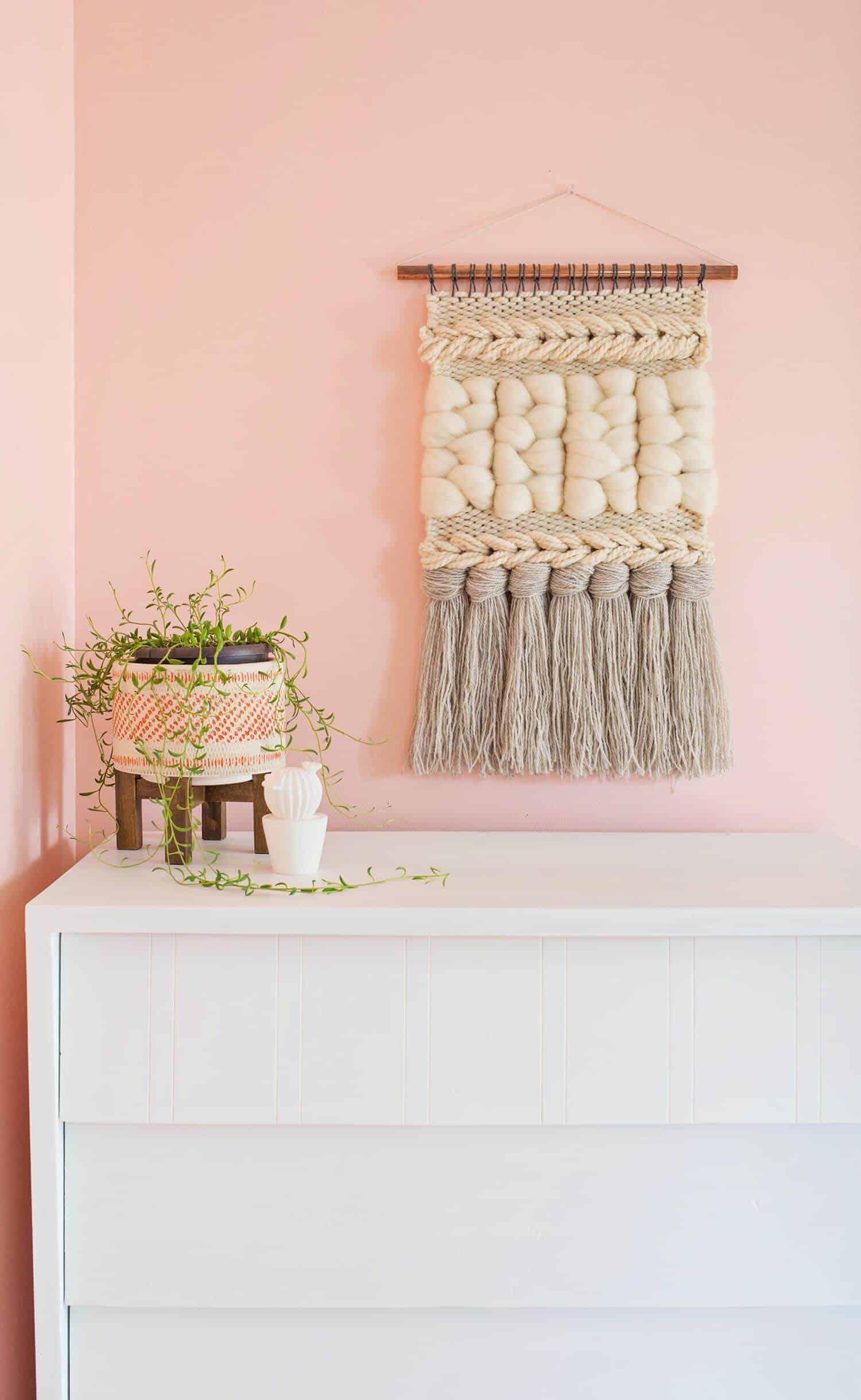 woven wall decor