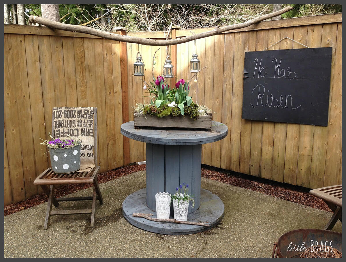 rustic outdoor setting
