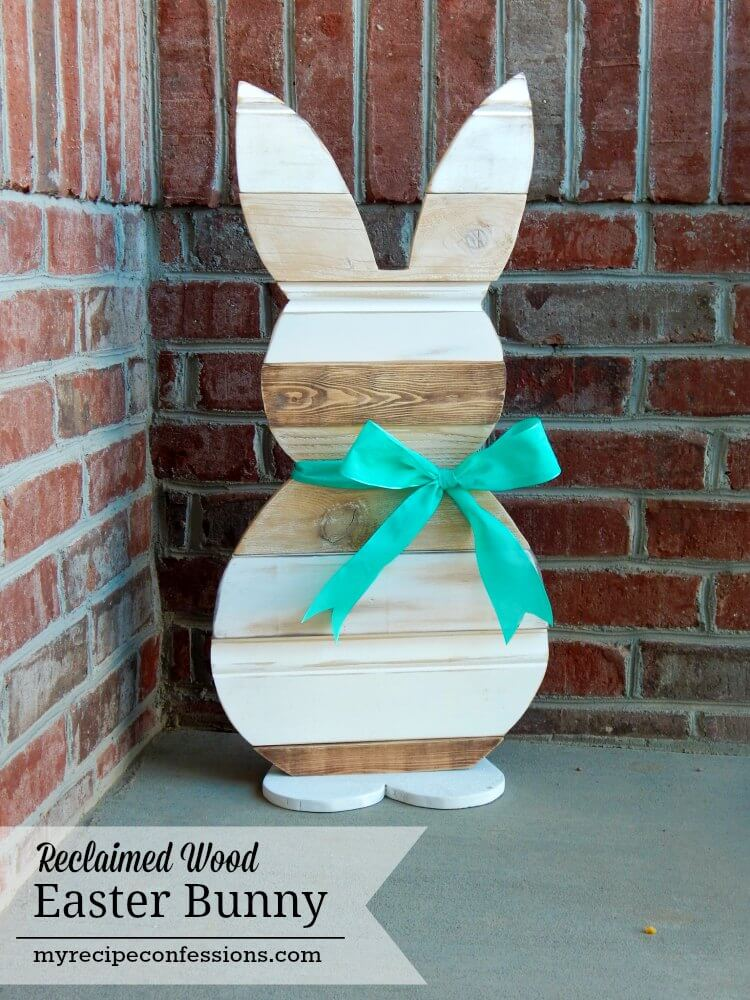 outdoor rustic Easter decor