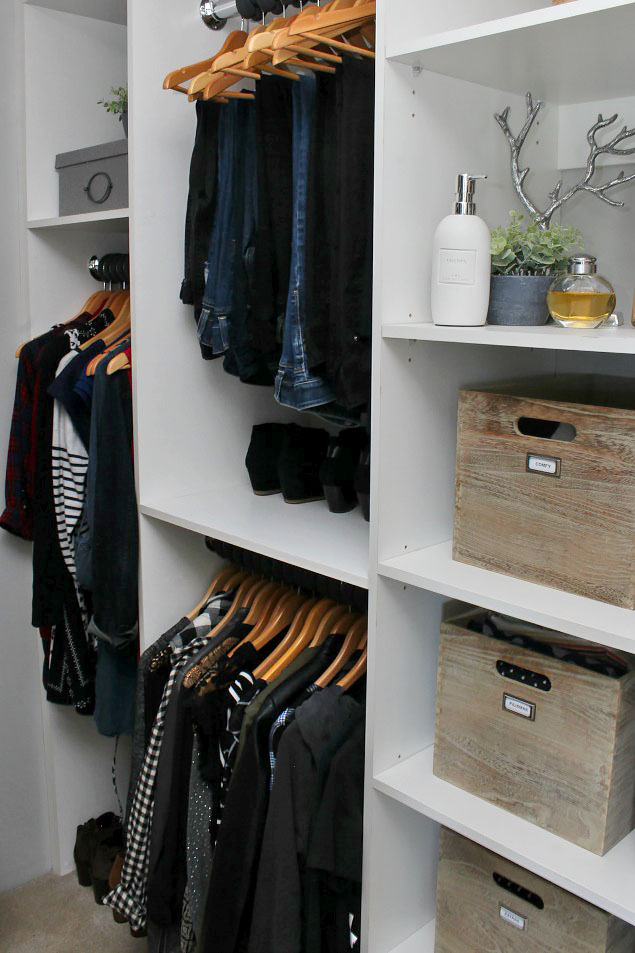tips to declutter wardrobe