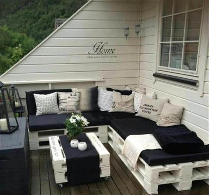 how to make pallet furniture