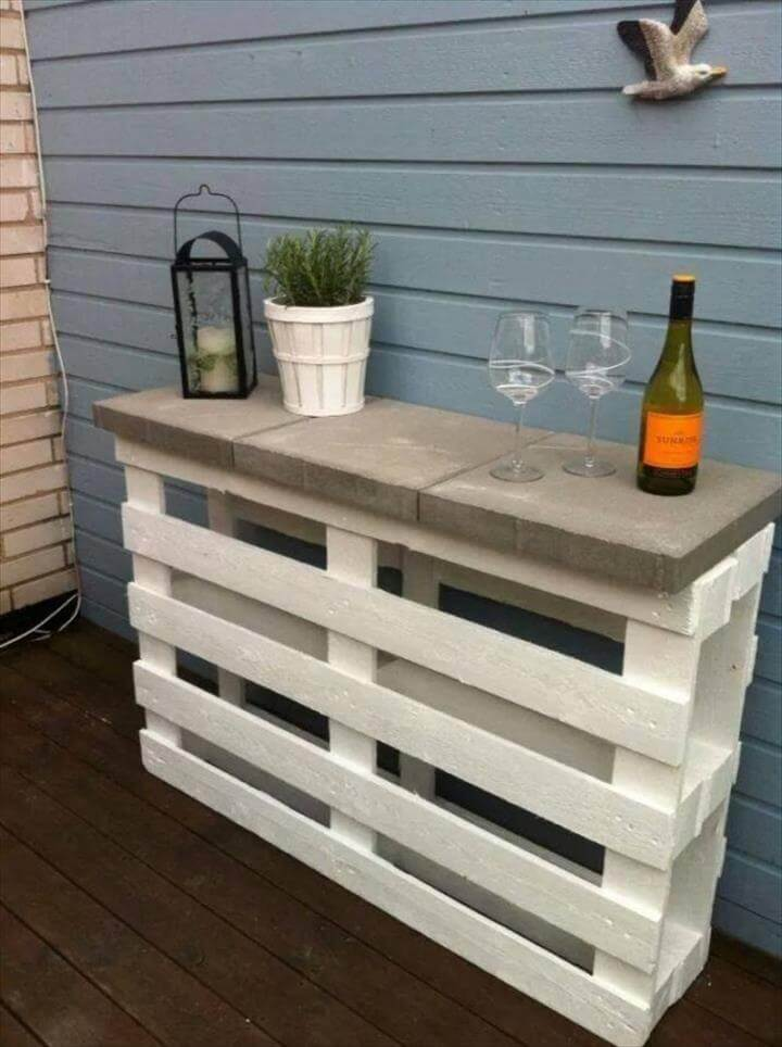 how to make outdoor furniture with pallets