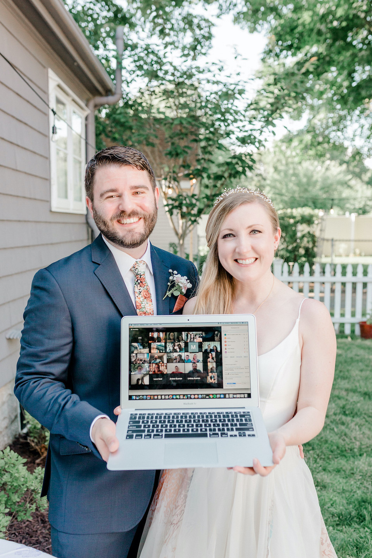 covid 19 wedding photographs