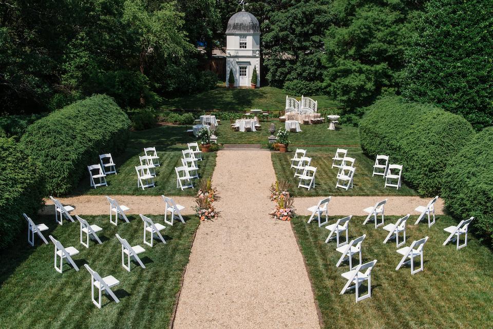 social distance wedding