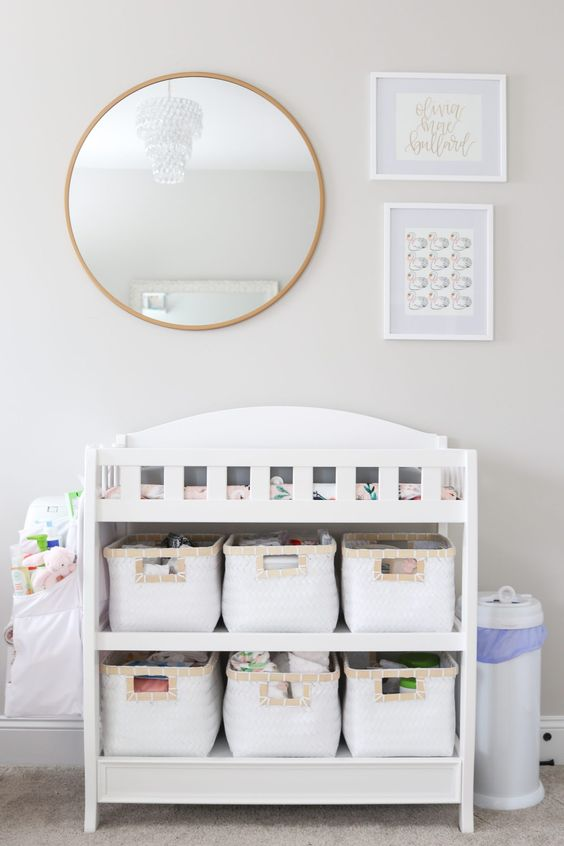 baby room baskets