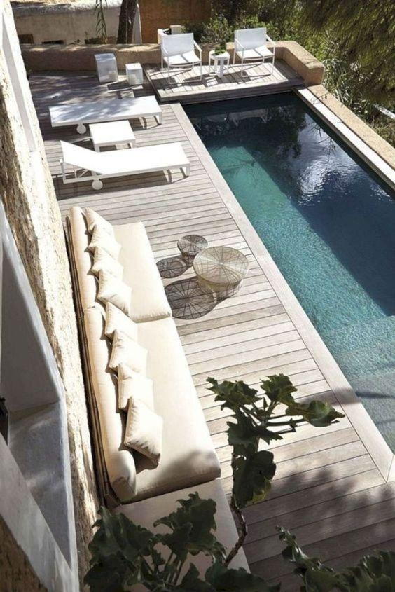 backyard pool decor