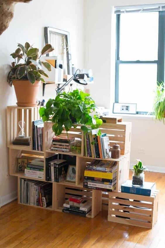 DIY indoor room divider
