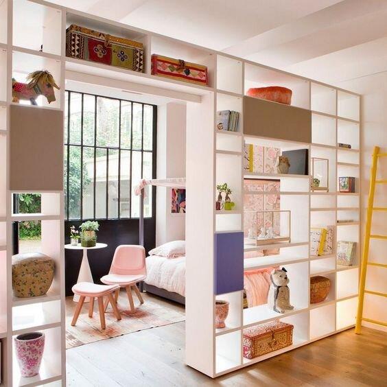 shelves divider