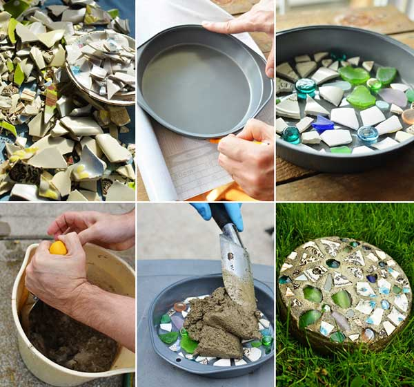 step-by-step stepping stones tutorial