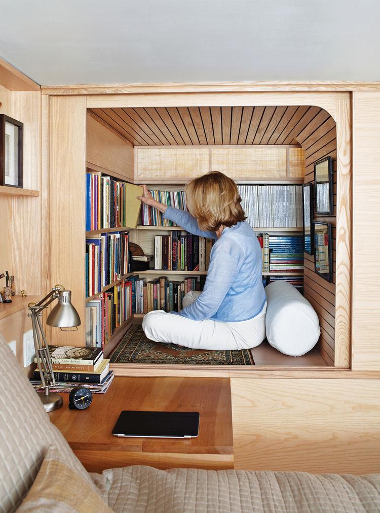 unexpected book storage