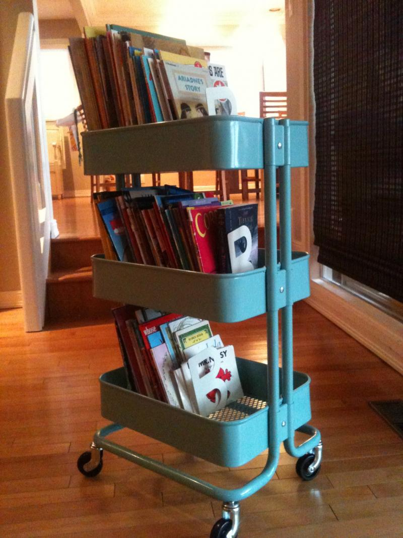 mobile home library