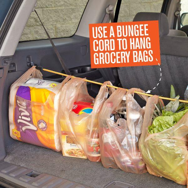 bungee cord car organizer