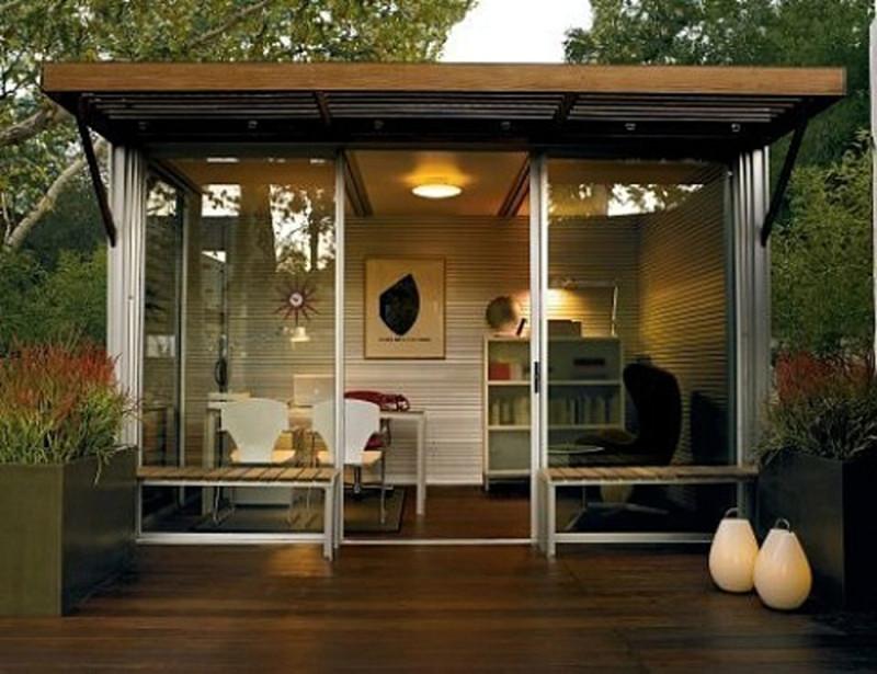 outdoor office