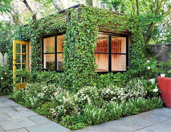 outdoor workspace ideas