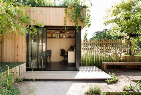 modern outdoor office design
