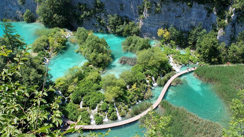 Plitvice Lakes, National Park, Croatia, Nature, Lake