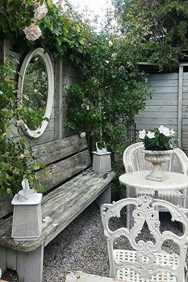 vintage style garden