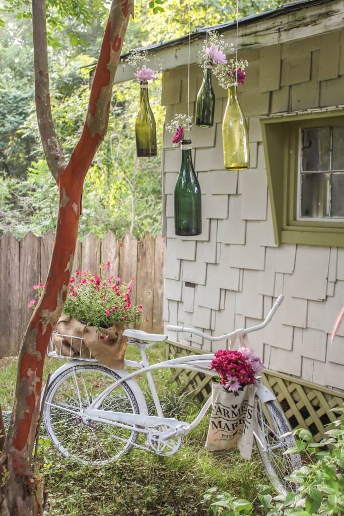 vintage outdoor decorations