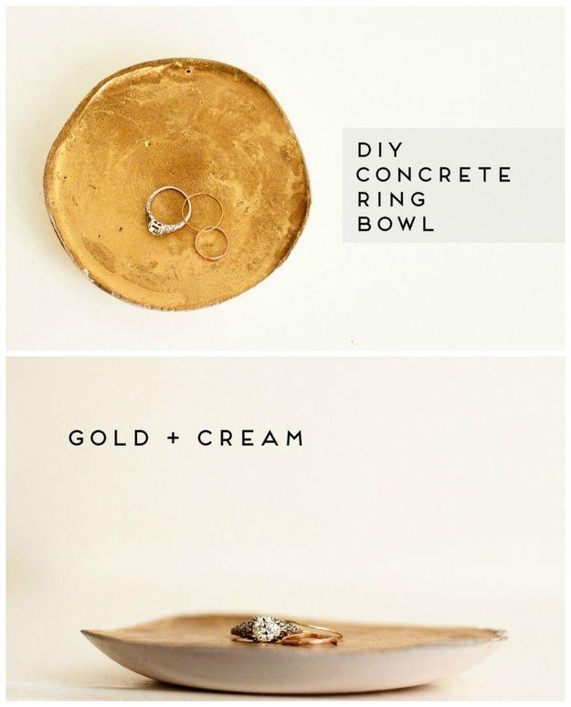 concrete ring bowl