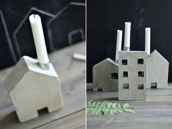 DIY cement crafts