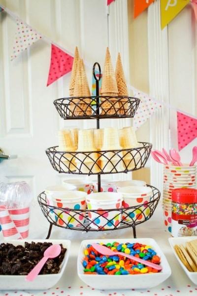 ice cream cones birthday