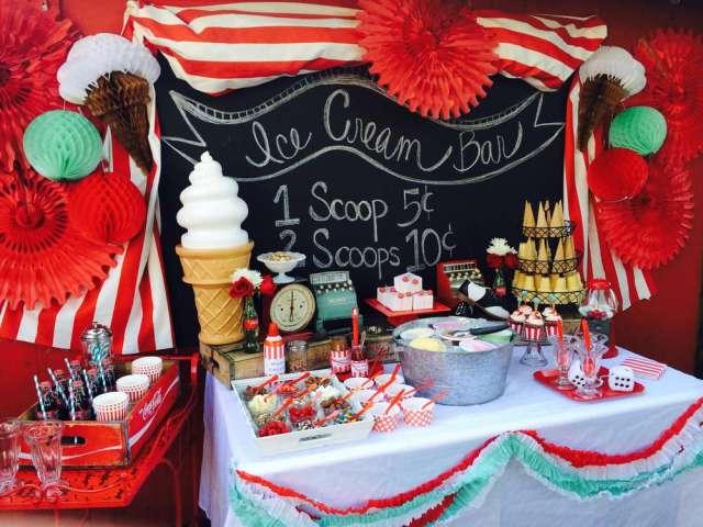 ice cream party decorations diy