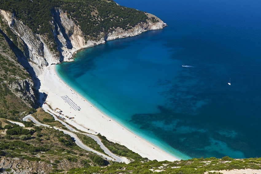 what's the best beach in greece
