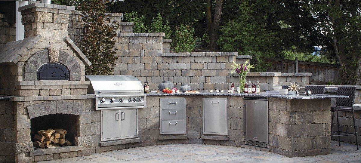 backyard kitchen