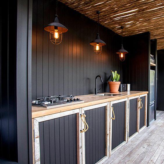 inexpensive outdoor kitchen ideas